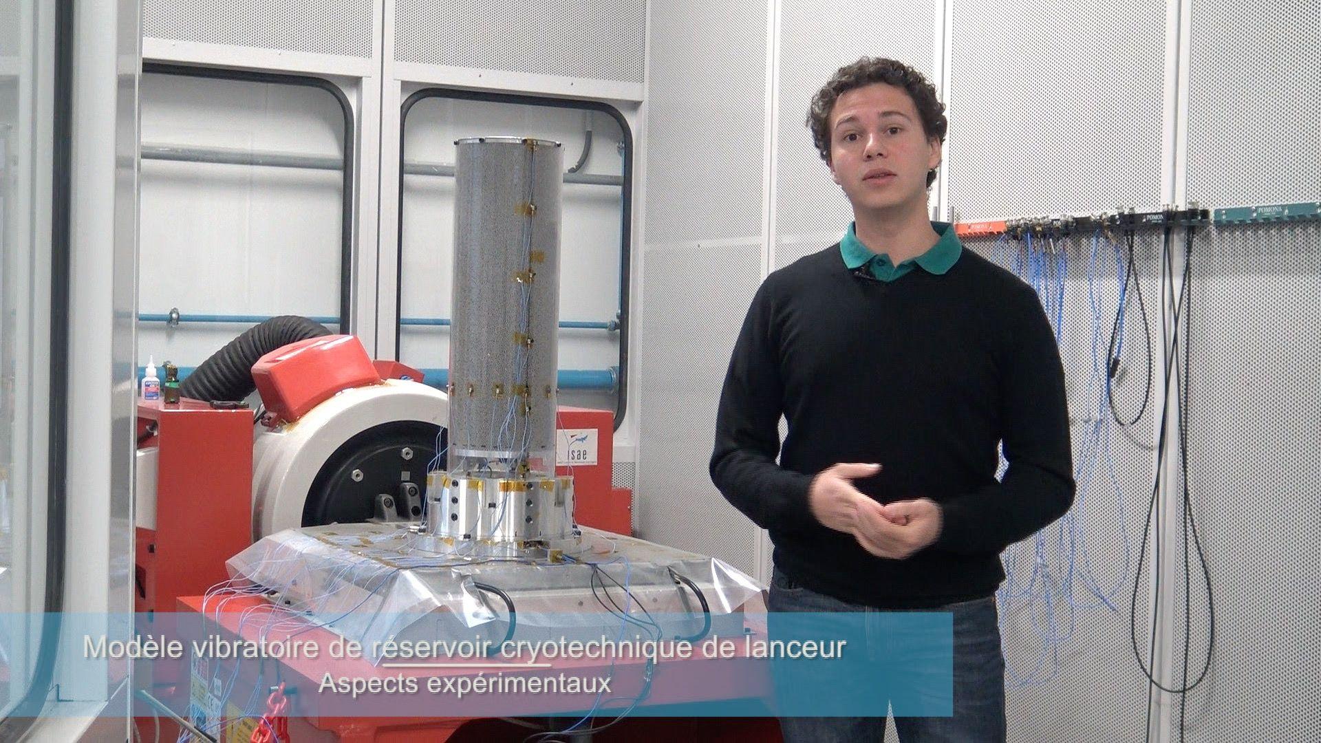 Modèle vibratoire de réservoir (ICA Montaudran)